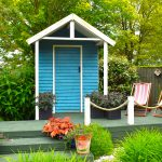 Kiezen voor een groot of klein modern tuinhuis met overkapping?